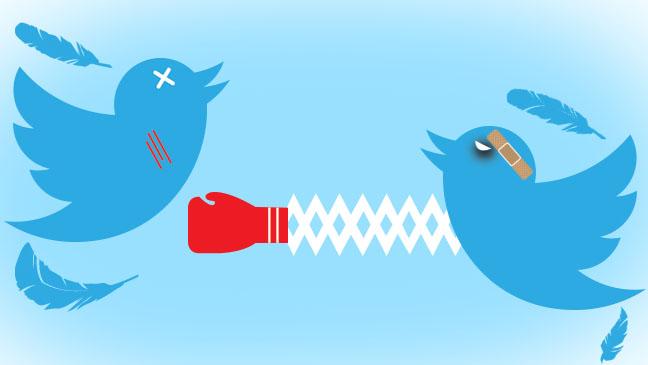 twitter politics war