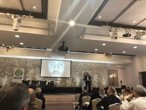 John Saunders speaking at ICCO Global Summit